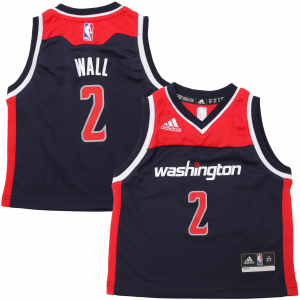 John Wall Washington Wizards adidas Preschool Replica Road Jersey - Navy Blue