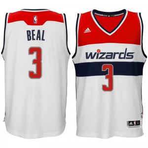 Bradley Beal Washington Wizards adidas Player Swingman Home Jersey - White