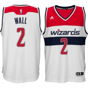 John Wall Washington Wizards adidas Player Swingman Home Jersey - White Home