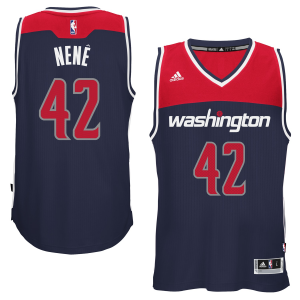 Nene Hilario Washington Wizards adidas Player Swingman Alternate Jersey - Navy