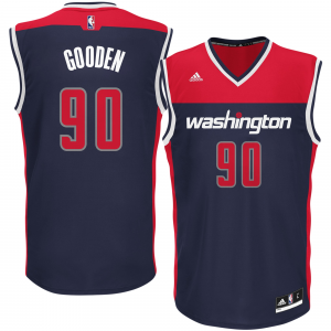 Drew Gooden Washington Wizards adidas Replica Jersey - Blue