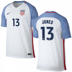 Jermaine Jones US Soccer Nike Home Replica Jersey Jersey - White