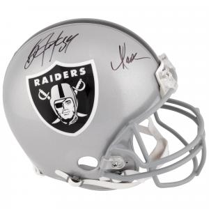 Marcus Allen, Bo Jackson Los Angeles Raiders Fanatics Authentic Dual Signed Riddell Pro-Line Helmet