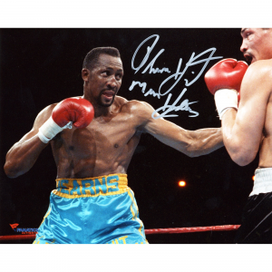 Thomas Hearns Fanatics Authentic Autographed 8