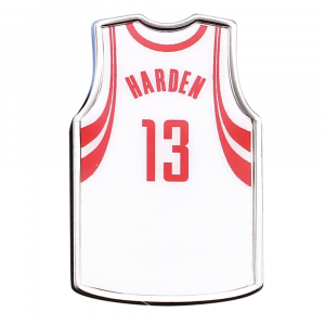 James Harden Houston Rockets WinCraft Jersey Collector's Pin