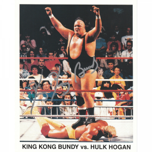 King Kong Bundy Fanatics Authentic Autographed 8