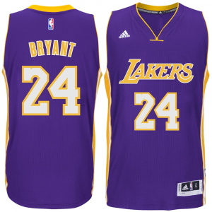 Kobe Bryant Los Angeles Lakers adidas Player Swingman Jersey - Purple Road