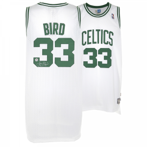 Larry Bird Boston Celtics Fanatics Authentic Autographed Adidas Swingman White Jersey
