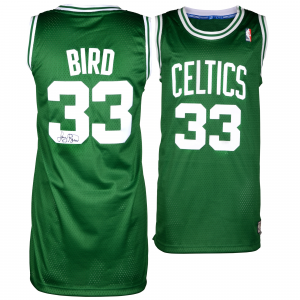 Larry Bird Boston Celtics Fanatics Authentic Autographed Adidas Swingman Jersey