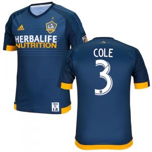 Ashley Cole LA Galaxy adidas 2016 Authentic Secondary Jersey - Navy