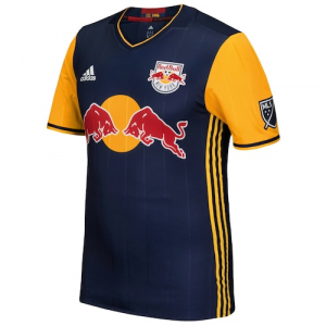 New York Red Bulls adidas 2016/17 Authentic Secondary Jersey - Navy