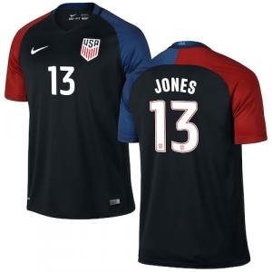 Jermaine Jones US Soccer Nike Away Replica Stadium Jersey - Black