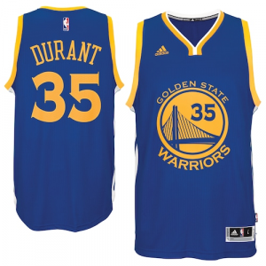 Kevin Durant Golden State Warriors adidas Road Swingman Jersey - Royal