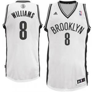Deron Williams Brooklyn Nets adidas Swingman Home Jersey - White