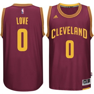 Kevin Love Cleveland Cavaliers adidas Player Swingman Road Jersey - Burgundy