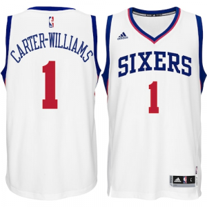 Michael Carter-Williams Philadelphia 76ers adidas Player Swingman Home Jersey - White