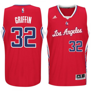 Blake Griffin LA Clippers adidas Player Swingman Road Jersey - Red