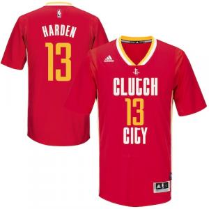 James Harden Houston Rockets adidas Pride Swingman Jersey - Red Road