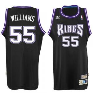 Jason Williams Sacramento Kings adidas Hardwood Classic Swingman Jersey - Black