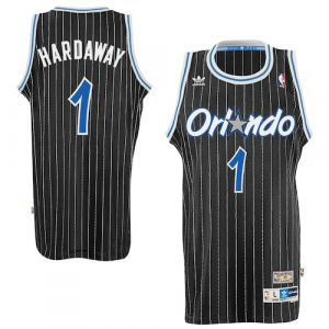 Penny Hardaway Orlando Magic adidas Hardwood Classics Swingman Jersey - Black