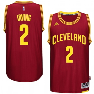 Kyrie Irving Cleveland Cavaliers adidas Player Swingman Road Jersey - Burgundy