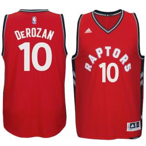 DeMar DeRozan Toronto Raptors adidas Swingman climacool Jersey - Red