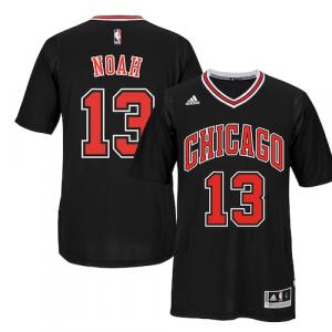 Joakim Noah Chicago Bulls adidas Player Swingman Alternate Short Sleeve Jersey - Black