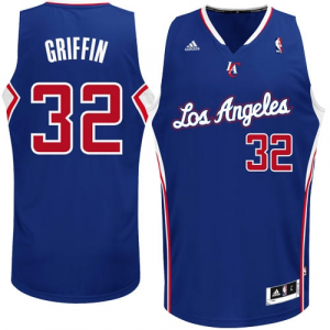 Blake Griffin LA Clippers adidas Swingman Alternate Jersey - Royal Blue