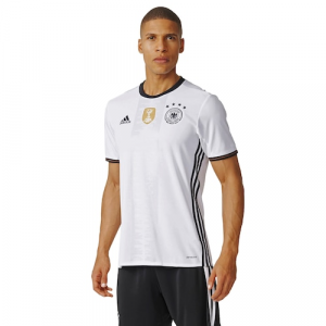 Germany adidas 2016/17 Home Jersey - White/Black