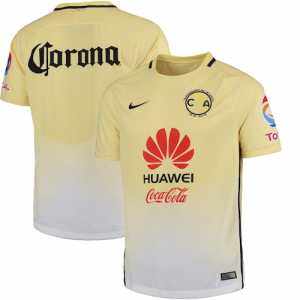 Club America Nike 2016/17 Home Stadium Jersey - Yellow