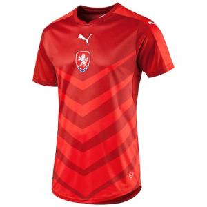 Czech Republic Puma 2016 Home Shirt Replica Jersey - Red