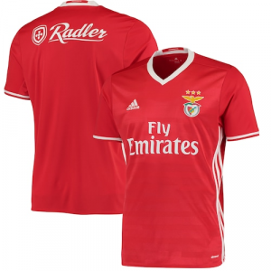 Benfica adidas Home Jersey - Red/White