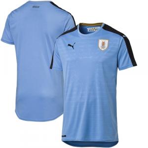 Uruguay Puma 2016 Home Shirt Replica Jersey - Blue/Gold