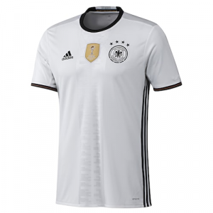 Germany National Team adidas Home climacool Jersey - White/Black
