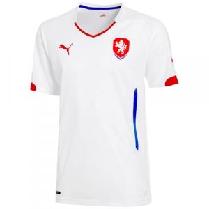 Puma Czech Republic 2014 Replica Away Jersey - White