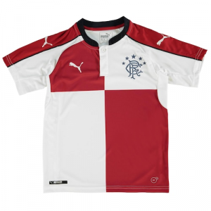 Rangers FC Puma Youth 2016/17 Away Jersey - Red