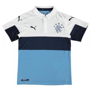 Rangers FC Puma Youth 2016/17 Third Jersey - Blue