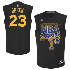 Draymond Green Golden State Warriors adidas 2015 NBA Finals Champions Jersey - Black