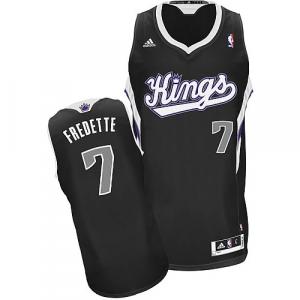 Jimmer Fredette Sacramento Kings adidas Youth Swingman Alternate Jersey - Black
