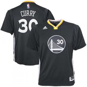 Stephen Curry Golden State Warriors adidas Youth 2014-15 New Swingman Alternate Jersey - Slate