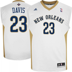 Anthony Davis New Orleans Pelicans adidas Replica Home Jersey - White Home