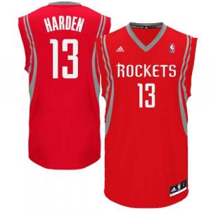 James Harden Houston Rockets adidas Replica Road Jersey - Red