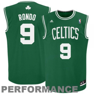 Rajon Rondo Boston Celtics adidas Replica Road Jersey - Kelly Green