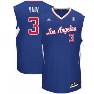 Chris Paul LA Clippers adidas Replica Alternate Jersey - Royal Blue