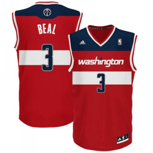 Bradley Beal Washington Wizards adidas Replica Road Jersey - Red