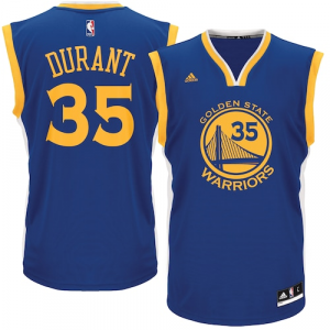 Kevin Durant Golden State Warriors adidas Road Replica Jersey - Royal