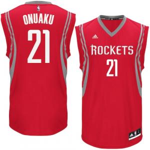 Chinanu Onuaku Houston Rockets adidas Road Replica Jersey - Red