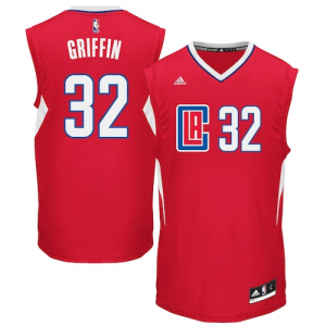 Blake Griffin LA Clippers adidas 2015 Replica Road Jersey - Red