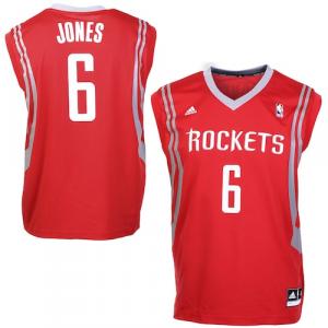 Terrence Jones Houston Rockets adidas Road Replica Jersey - Red