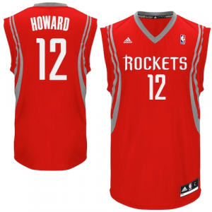 Dwight Howard Houston Rockets adidas Replica Road Jersey - Red